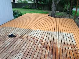 deck staining behr deckover before after mac u0026 cheese