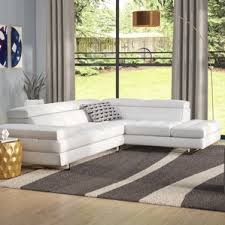 left facing sectional sofas you u0027ll love wayfair