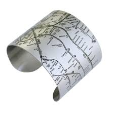 Brooklyn Subway Map by Brooklyn Map Bracelets For Women Who Love Brooklyn Designhype