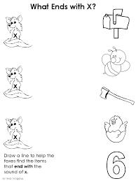 ending consonants worksheets