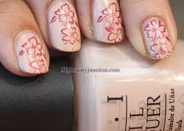 stamping nail art tutorial ii with konad image plate and o p i