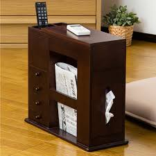 Chair Side Tables With Storage Impressive Side Table With Storage Ideal Chair Side Tables With