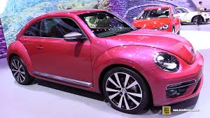new volkswagen beetle volkswagen beetle pink edition concept exterior and interior