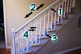 Wood Banisters And Railings How To Paint Stairway Railings Bower Power
