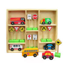 Plan Toys Parking Garage Australia by Car Wooden Toys Ebay