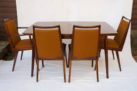 german mid century dining set with 6 chairs by habeo at 1stdibs