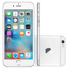Fabuloso iPhone 6 Apple 64GB Prata Tela 4,7