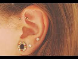 earrings for second second piercing second earrings idea