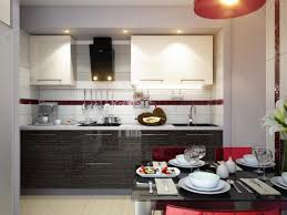Kitchen And Breakfast Room Design Ideas by Decoration Ideas Cool Black Red Kitchen Color Set Combination