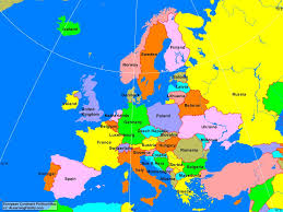 map of euorpe europe european continent political map a learning family and of