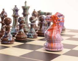 imaginative artistic luxury chess sets from purling london