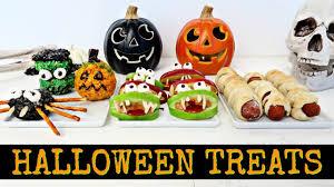 Halloween Appetizer Ideas by Easy Halloween Treats Ideas Youtube