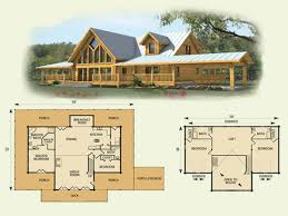 simple log cabin floor plans cabin plans simple plan large cottage house small one floor lake