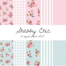 shabby chic wrapping paper shabby chic digital paper floral gingham stripes polka dots