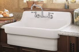 wall mounted kitchen sink faucets american standard faucets heritage handle wall mount