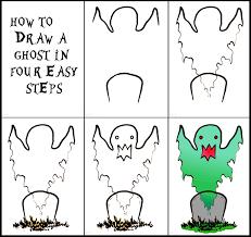 halloween step by step drawings u2013 fun for halloween