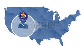 usa map kansas state kansas state flag stock photos royalty free kansas state flag