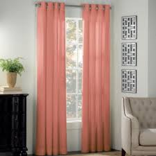 Coral And Turquoise Curtains Newport Grommet Window Curtain Panels Bedbathandbeyond This