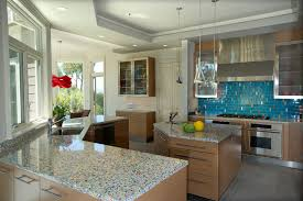 recycled glass backsplashes for kitchens recycled glass countertops kitchen contemporary with geos recycled