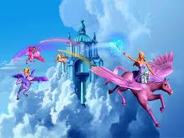 barbie magic pegasus barbie princess wallpaper 1024 768