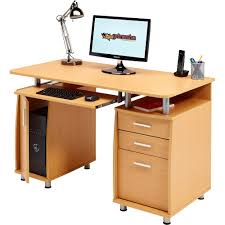 computer desk with storage u0026 a4 filing drawer home office piranha