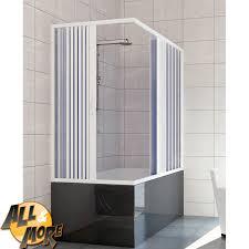 pannelli per vasca da bagno all more it box cabina doccia angolare per vasca in pvc con