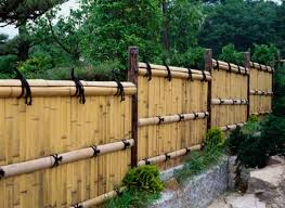 Backyard Fence Ideas Patio Fencing Ideas Zhis Me