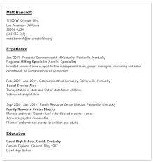 printable resume exles resume sles professional resume sles in word format