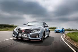 used lexus vs new honda honda civic type r vs ford focus rs vs bmw m140i vs seat leon