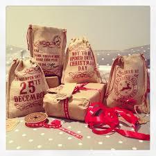 gift bags christmas jute christmas printed gift bags