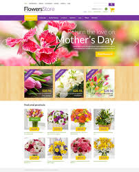 all occasion flowers zencart template 50876