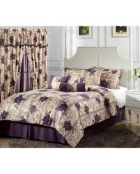 Jacquard Bed Set Bargains On Chezmoi Collection 7 Purple