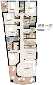 Myrtle Beach 3 Bedroom Condo Southwind Floorplans Myrtle Beach Oceanfront Condos