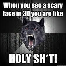 Meme Scary Face - insanity wolf memes quickmeme