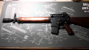 Cool Stock by Ar 15 Build How To Build With Walnut Stock Cool Youtube
