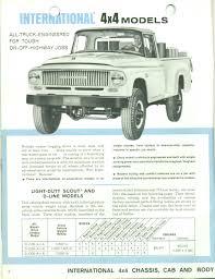 Vintage Ford Truck Brochures - 1968 ih 4x4 lufkin