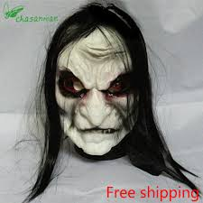 cheap and scary halloween decorations online get cheap realistic zombie mask aliexpress com alibaba group