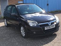 2006 vauxhall astra elite 1 7 cdti mot march 2018 full