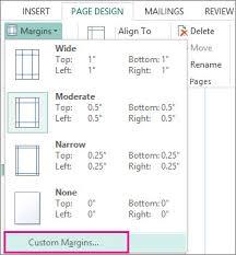 cara membuat x banner dengan publisher set page margins for printing using publisher publisher