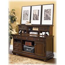 H69748 Ashley Furniture Porter Home Office Short Desk Hutch