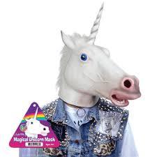 the quirky magical unicorn mask geek pinterest unicorn mask