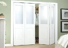 Lowes Folding Closet Doors Bi Fold Closet Doors Decoration Glass Closet Doors With Lowes