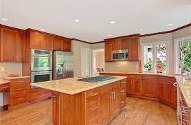 Cognac Kitchen Cabinets by Mesmerizing Cherry Shaker Kitchen Cabinets Cognac 21jpg Kitchen