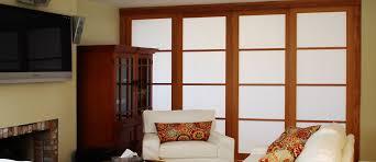 japanese shoji doors room dividers closet doors cherry tree design
