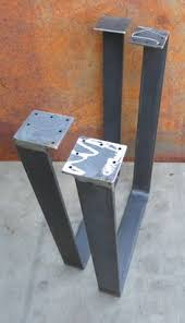 Flat Bar Table Legs Metal Table Legs Flat Bar By Steelimpression On Etsy Table Legs