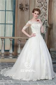 wedding dress suppliers half sleeve wedding gown shoulder wedding gown lace wedding gown