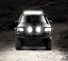 ecco led offroad lights xray vision off road led lightbars esg asia pacific