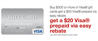 20 dollar gift card get a free 20 visa gift card with staples rebate