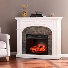 White Electric Fireplace With Bookcase White Electric Fireplaces You U0027ll Love Wayfair