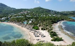 St Barts Island Map by Grand Cul De Sac Attractions Travel Leisure